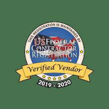 US Federal Contractor badge