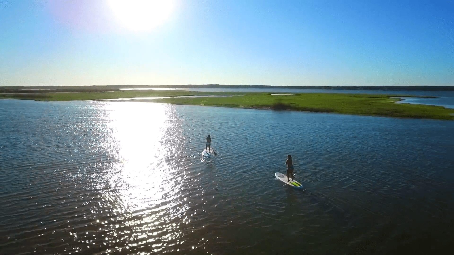 Paddle Boarding Dockers Waterside